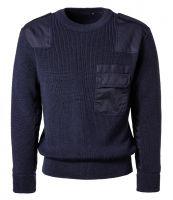 PIONIER-Arbeits-Berufs-Bundeswehr-Pullover, schwarzblau