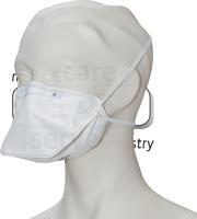 care&serve-Einweg-Atemschutz-Einmal-Maske, FFP 2, Faltform, Pkg á 20 Stück, VE: 400 Stück, weiß