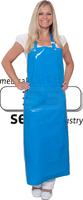 WIROS-Jobwear, Einweg-PU-Arbeits-Berufs-Latz-Schürze, 0,30 mm, 90 x 130 cm, VE = 20 Stück