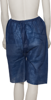 care&serve-Einweg-Vlies Koloskopie-Einmal-Hose, überlappende Öffnung hinten, 40 g/m², 120 x 65 cm, Polybeutel, Pkg á 10 Stück, VE: 100 Stück, dunkelblau