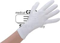 Baumwoll-Arbeits-Handschuhe, Feinstrick, premium, Polybeutel, Pkg. á 12 Paar, VE: 600 Paar, weiß