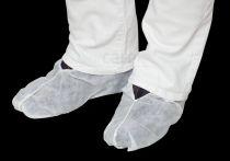 care&serve Einweg-Vlies-Einmal-Über-Schuhe, premium, Polybeutel, 35 g/m², 17 x 41 cm, Pkg. á 100 Stück, VE: 2000 Stück, w