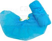 WIROS-Jobwear, Einweg-Vlies-Überschuhe, Einmalschuhe, für quickfit compact Spender, 17 x 52 cm, Pkg á 30 Stück, VE = 1500 Stück, blau