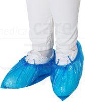 WIROS-Jobwear, Einweg-PE-Überschuhe, Einmalschuhe, für Automatik Spender Quick, 17 x 44 cm, Pkg á 100 Stück, VE = 2500 Stück, blau