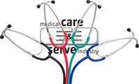 care&serve-Hygiene, Stethoskop, Doppelkopf, kombiniertes Membran Trichter Bruststück, Membran Ø: 4,5 cm, Trichter Ø: 5 cm, VE: 100 Stück,