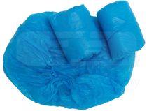 care&serve-Hygiene, Einweg-CPE Matratzenüberzug, gehämmert, Gummizug, 0,02 mm, Polybeutel, 90 x 210 x 20 cm, Pkg. á 10 Stück, VE: 100 Stück, blau