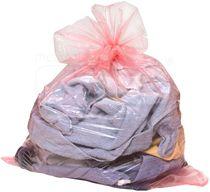 care&serve-Hygiene, Einweg-Wäschesack, professional, wasserlöslich ab 45 Grad, Verschlussband, 100 l, Polybeutel, Pkg. á 25 Stück, VE: 200 Stück, ro
