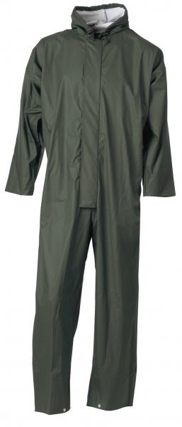 ELKA-Regen-Nässe-Wetter-Schutz-Anzug, Set, 170g/m², oliv