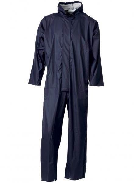 ELKA-Regen-Nässe-Wetter-Schutz-Schutz-Anzug, , Set, 170g/m², marine