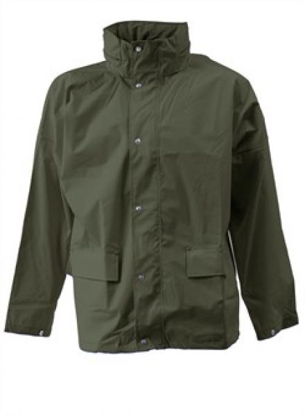ELKA Arbeits-Berufs-Regen-Nässe-Wetter-Schutz-Jacke,  Dry Zone, oliv