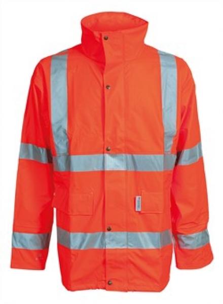 ELKA Warn-Schutz-Arbeits-Berufs-Jacke, Dry Zone EN 471, warnorange