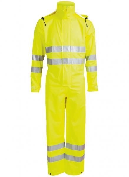 ELKA-Regen-Nässe-Wetter-Schutz-Anzug, EN 471, DRY ZONE, 170g/m², warngelb
