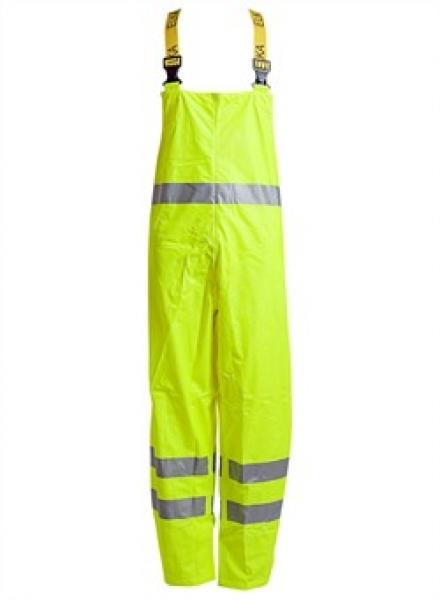 ELKA Warn-Schutz-Arbeits-Berufs-Latz-Hose Dry Zone EN 471, warngelb