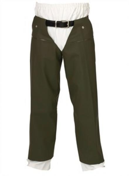 ELKA-PVC/Polyester, Wathose, Lose Beine, oliv-grün