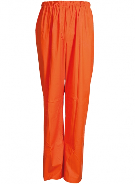 ELKA-Regen-Nässe-Wetter-Schutz-Bundhose, PVC LIGHT, 320g/m², orange