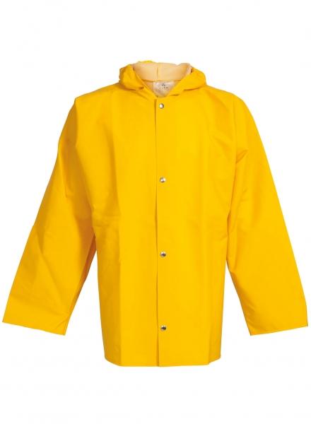 ELKA Regen-Nässe-Wetter-Schutz-Arbeits-Berufs-Jacke, PVC Light, gelb