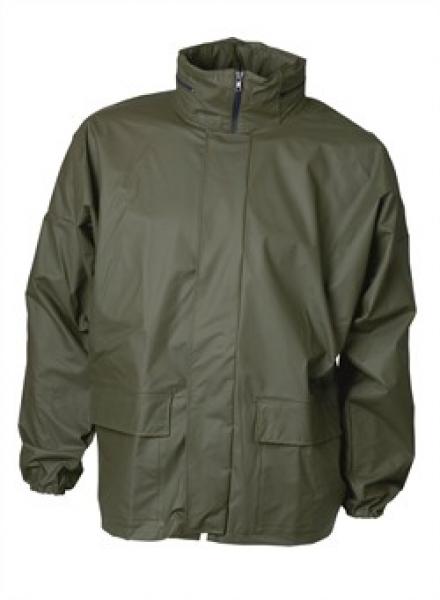 ELKA Regen-Nässe-Wetter-Schutz, Arbeits-Berufs-Jacke, Xtreme, oliv