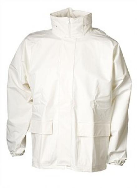 ELKA Regen-Nässe-Wetter-Schutz, Arbeits-Berufs-Jacke, Xtreme, weiß