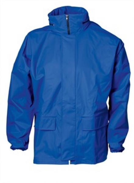 ELKA Regen-Nässe-Wetter-Schutz, Arbeits-Berufs-Jacke, Xtreme, cobalt