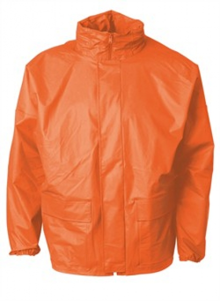 ELKA Regen-Nässe-Wetter-Schutz, Arbeits-Berufs-Jacke, Xtreme, orange