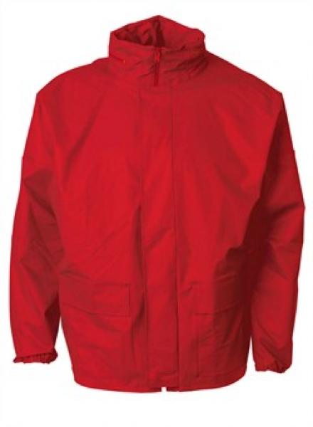 ELKA Regen-Nässe-Wetter-Schutz, Arbeits-Berufs-Jacke, Xtreme, rot