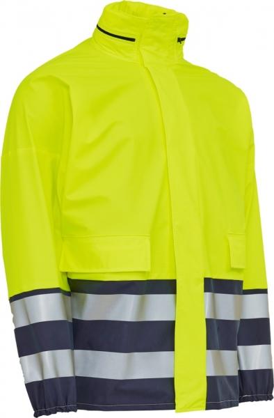 ELKA Warn-Schutz-Arbeits-Berufs-Jacke, mit Reißverschluss, Elka Xtreme EN 471, war