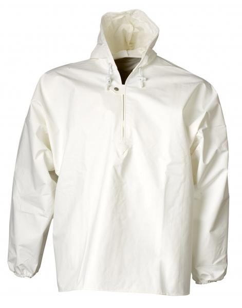 ELKA Regen-Nässe-Wetter-Schutz-Schlupf-Jacke, Xtreme, weiß
