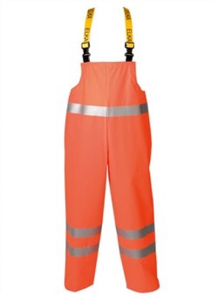 ELKA Warn-Schutz-Arbeits-Berufs-Latz-Hose Elka Xtreme EN 471, warnorange