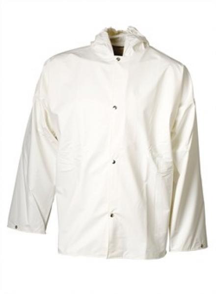ELKA Regen-Nässe-Wetter-Schutz-Jacke, Xtreme, weiß