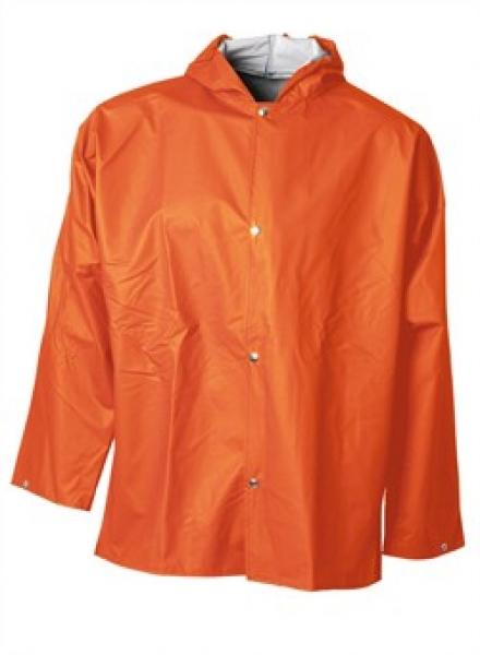 ELKA Regen-Nässe-Wetter-Schutz-Jacke, Xtreme, orange