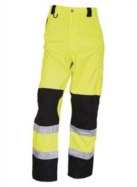 ELKA Warn-Schutz-Bund-Hose, Arbeits-Sicherheits-Berufs-Hose,  Visible Xtreme, warngelb/schwarz