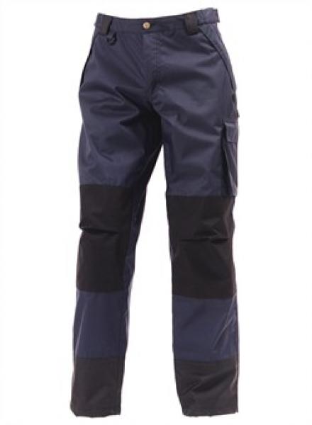 ELKA Regen-Nässe-Wetter-Schutz-Bund-Hose, Working Xtreme, marine/schwarz
