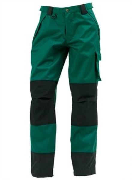 ELKA Regen-Nässe-Wetter-Schutz-Bund-Hose, Working Xtreme, grün/schwarz