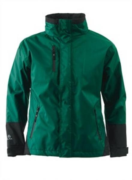 ELKA Regen-Nässe-Wetter-Schutz-Jacke,  Working Xtreme, grün/schwarz
