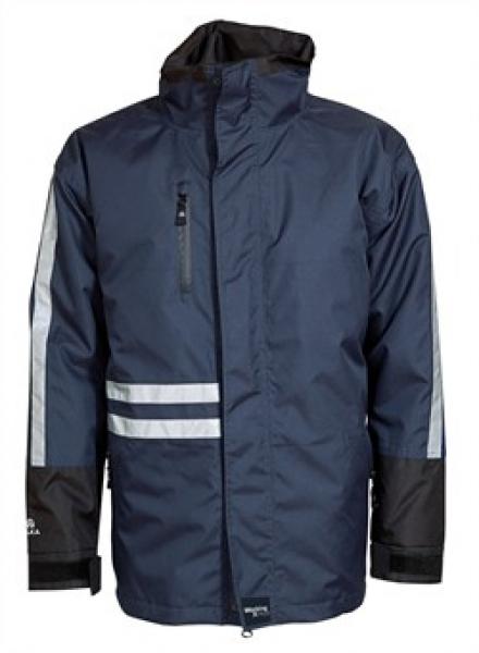 ELKA Regen-Nässe-Wetter-Schutz-Jacke, Working Xtreme, marine/schwarz