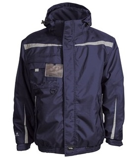 ELKA-Pilotenjacke, 2-in 1, WORKING XTREME, marine