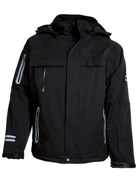 ELKA Freizeit-Winter-Wetter-Arbeits-Berufs-Jacke, Edge, schwarz