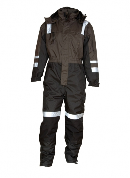 ELKA-Thermo-Overall, WORKING XTREME, anthrazit/schwarz
