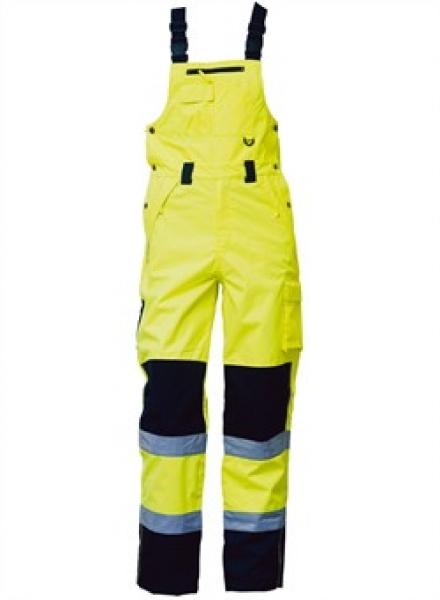 ELKA Warn-Schutz-Arbeits-Berufs-Latz-Hose Visible Xtreme, warngelb/schwarz