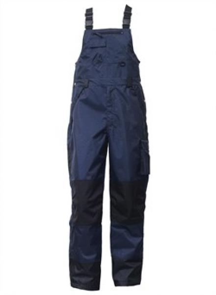 ELKA-Regen-Nässe-Wetter-Schutz, Arbeits-Berufs-Latzhose, Working Xtreme, marine/schwarz