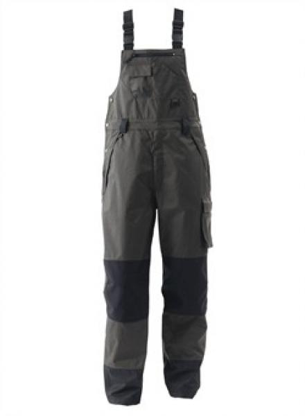 ELKA-Regen-Nässe-Wetter-Schutz, Arbeits-Berufs-Latzhose, Working Xtreme, anthrazit/schwarz