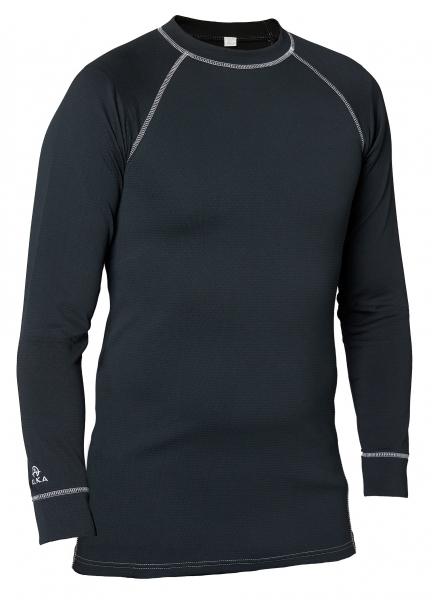 ELKA-Thermo-Funktions-Unterhemd, Cooldry, OUTDOOR, schwarz