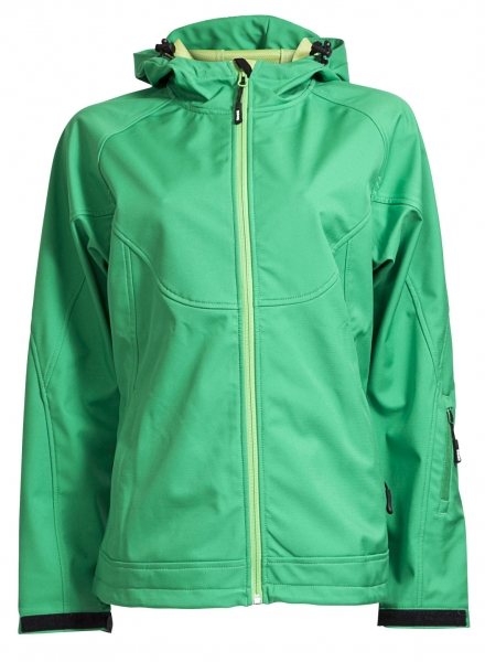 ELKA-Damen-Softshelljacke, EDGE, OUTDOOR, grün