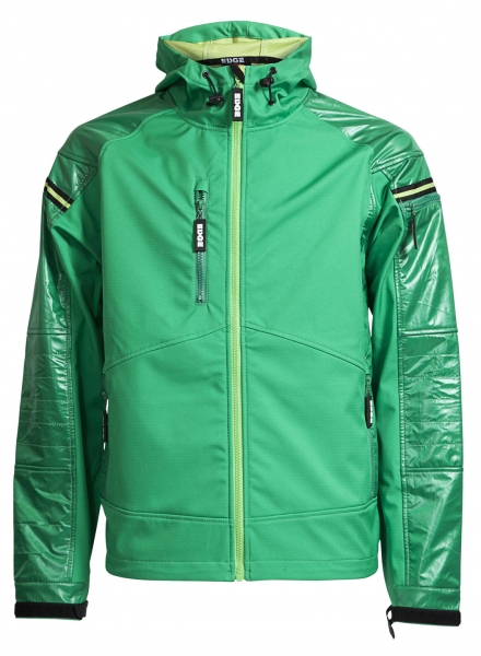 ELKA-Herren-Softshelljacke, EDGE, OUTDOOR, grün