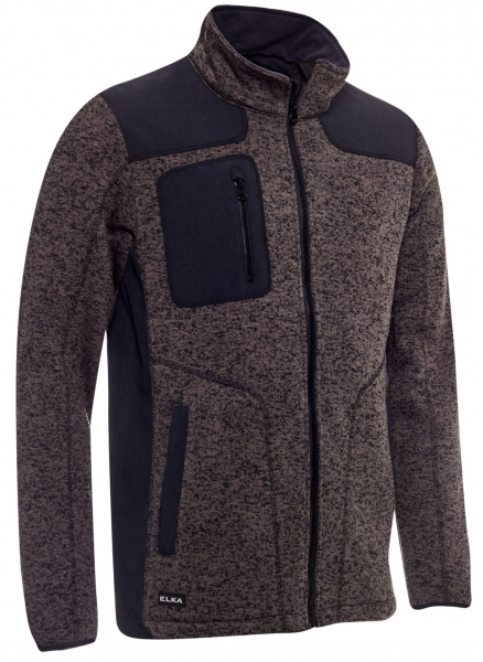 ELKA-Strickjacke, OUTDOOR, dunkelgrau