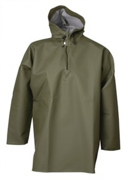 ELKA Regen-Nässe-Wetter-Schutz-Schlupf-Jacke,  Fishing Xtreme, oliv