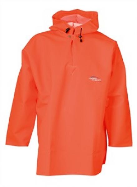ELKA Regen-Nässe-Wetter-Schutz-Schlupf-Jacke,  Fishing Xtreme, warnorange