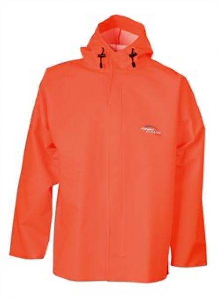 ELKA Regen-Nässe-Wetter-Schutz-Jacke, Fishing Xtreme, warnorange