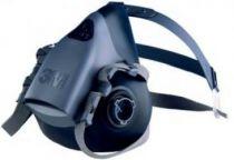 3M-PSA-Atem-Schutz, Filter-Maske, HALBMASKE, Silikon, 1 Stk.