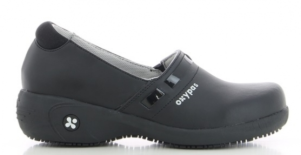 OXYPAS-Damen--Arbeits-Berufs-Schuhe, ESD, Lucia, schwarz
